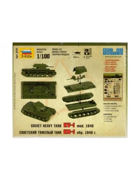 1/100 KV-1 Tank - Boxed kit