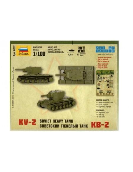 1/100 KV-2 Tank - Boxed kit