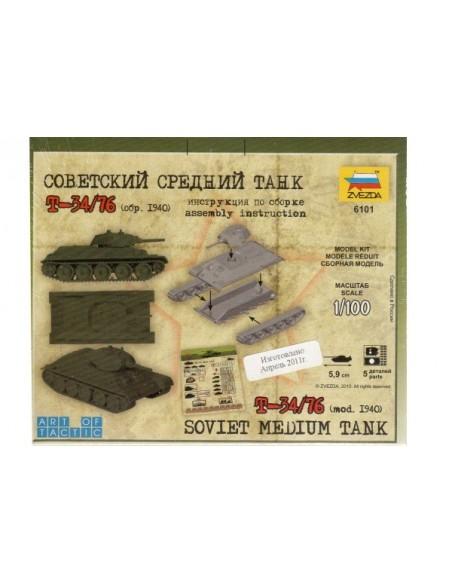 1/100 Tanc T-34/76 1940 - Capsa d'1