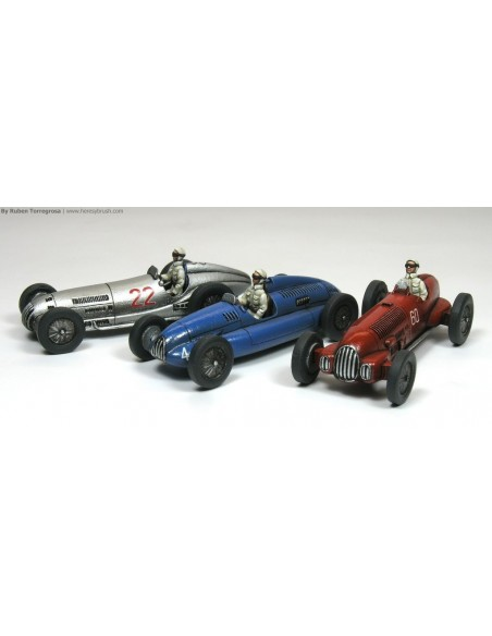 1/72 Racing Cars - Boxed set