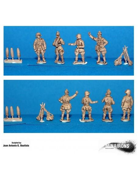 20mm Artilleria franquista