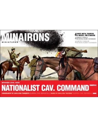 20mm Comandament de cavalleria franquista