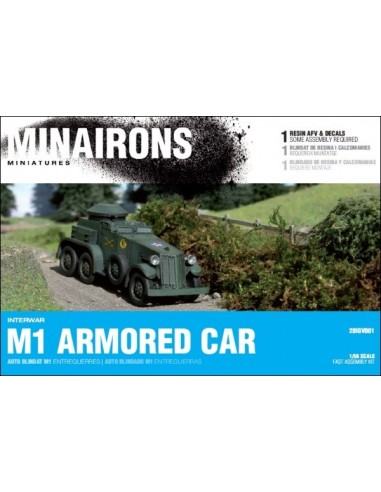 1/56 auto blindado M1 - Caja de 1
