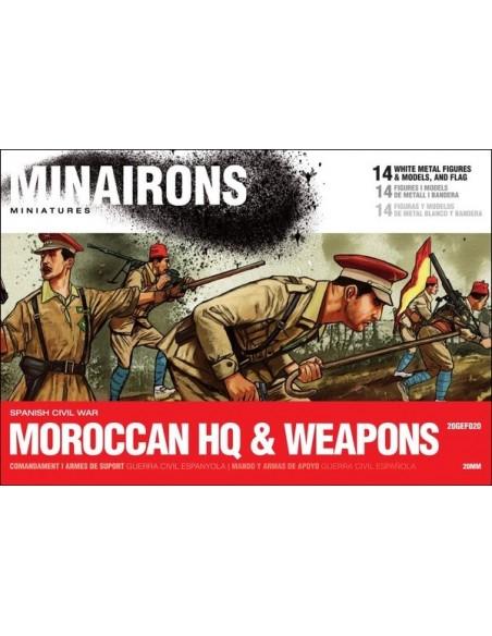 20mm Mando y armas de Regulares