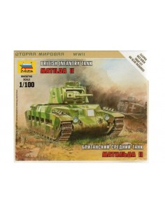 1/100 Matilda II Tank - Boxed kit
