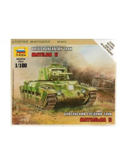 1/100 Tanc Matilda II - Capsa d'1