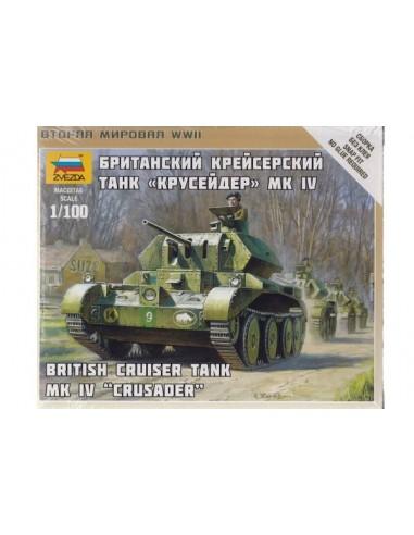 1/100 Crusader Mk IV Tank - Boxed kit