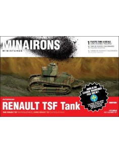 1/72 Renault TSF tank - Boxed kit