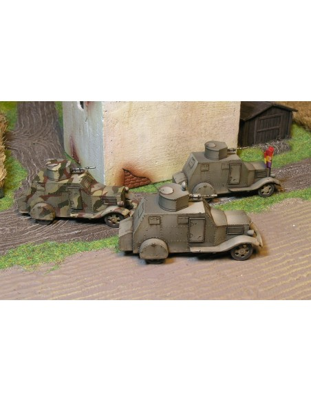 BILBAO Armoured Car - 1/100 scale