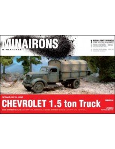 1/72 Chevrolet 1.5ton truck - Boxed kit