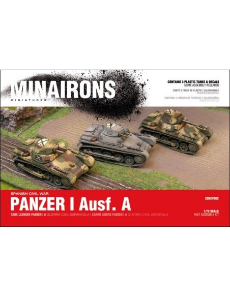 Panzer I Ausf. A - 1/72 scale