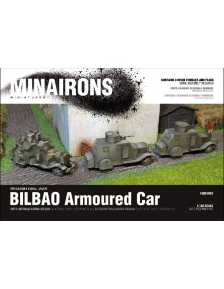 Blindado BILBAO - escala 1/100