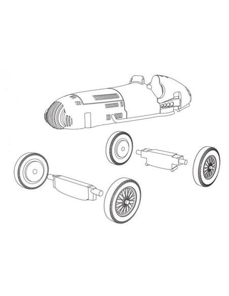 1/72 Mercedes Benz W154 - Model sòlt