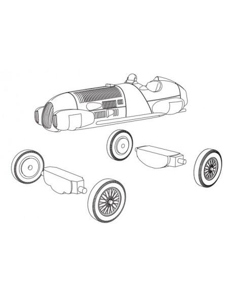 1/72 Alfa Romeo 12c/312 - Modelo suelto