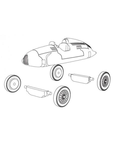 1/72 Auto Union tipus D - Model sòlt