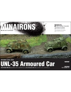 1/100 UNL-35 AFV - Boxed set