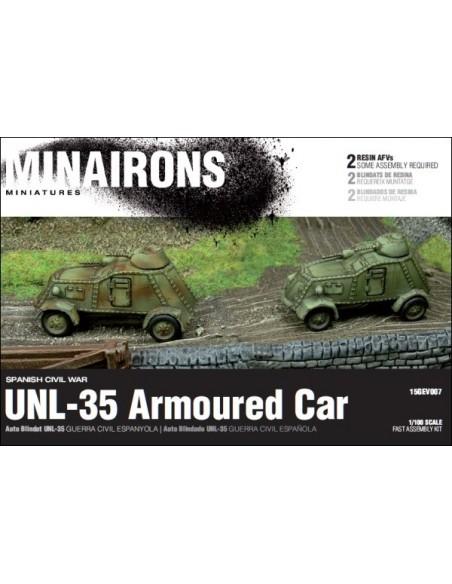 1/100 UNL-35 AFV - Boxed set