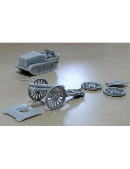 1/72 Landesa tractor & gun - Boxed kit