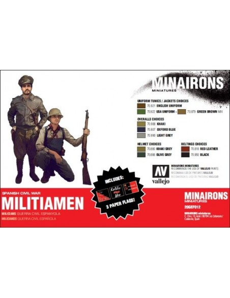 20mm Militiamen