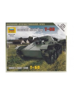 1/100 T-60 Light Tank - Boxed kit
