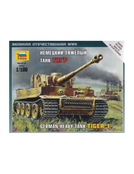 1/100 Tiger I Heavy Tank - Boxed kit