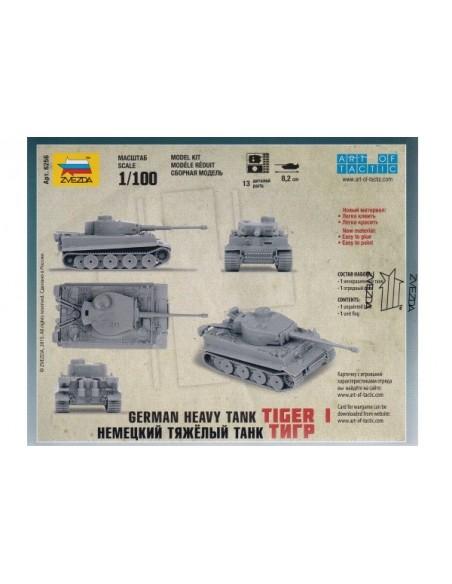 1/100 Tanc Tiger I - Capsa d'1