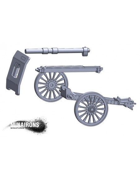 1/72 Vickers 105mm gun
