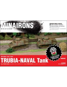 1/72 Trubia-Naval tank - Boxed set