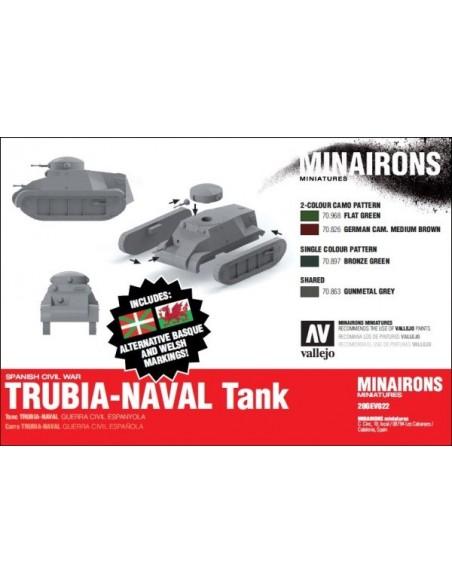 1/72 Carro Trubia-Naval - Caja de 2