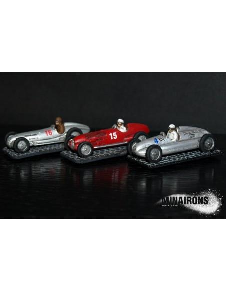 1/100 Autos de competició - Capsa de 3