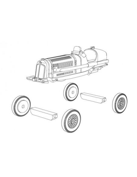 1/72 ERA tipus A i B - Model sòlt