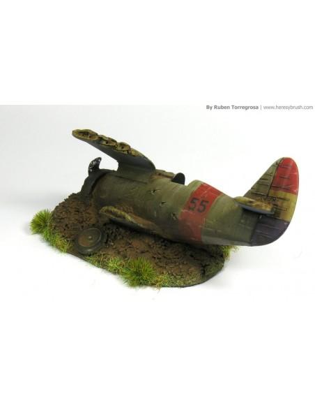 1/72 Avió abatut