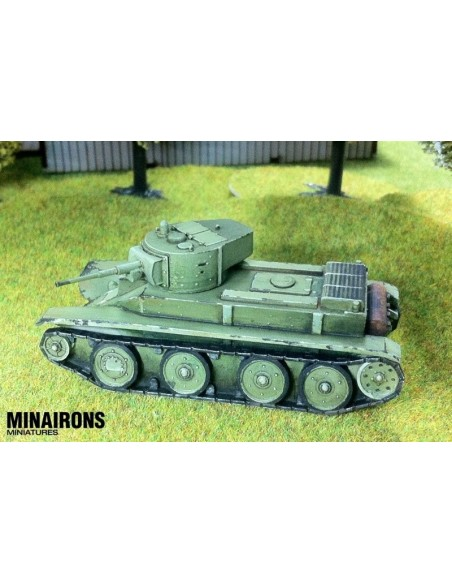 1/72 tanc ràpid BT-5 - Capsa d'1