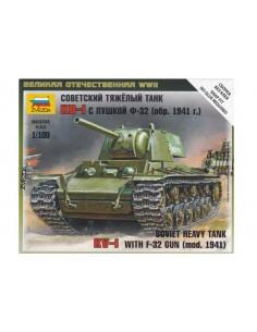 1/100 KV-1 mod. 1941 tank - Boxed kit