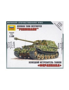 1/100 Ferdinand tank destroyer - Boxed kit