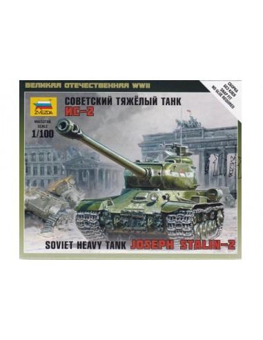 1/100 Carro Joseph Stalin II - Caja de 1