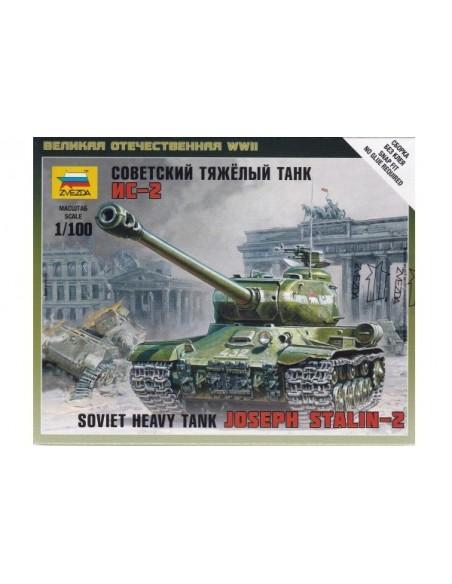 1/100 Joseph Stalin II Tank - Boxed kit