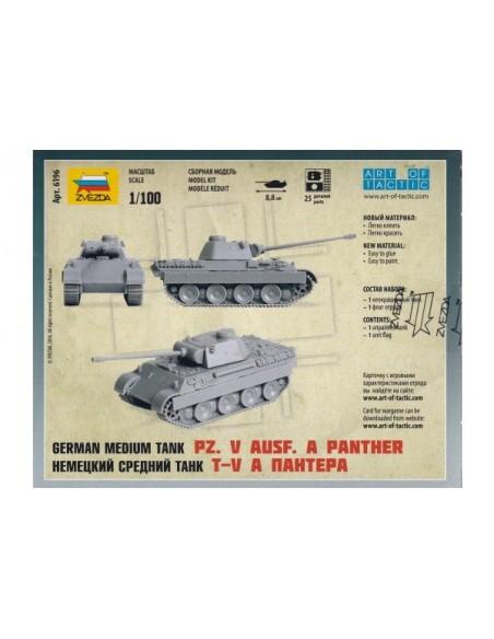 1/100 Tanc Panther ausf. A - Capsa d'1