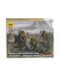 1/72 3-inch mortar & crew