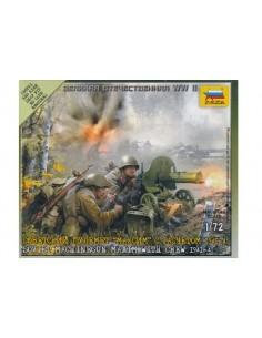 1/72 Soviet Maxim MG & crew