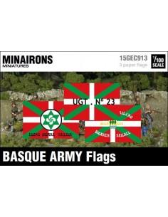 1/100 Banderas del ejército vasco