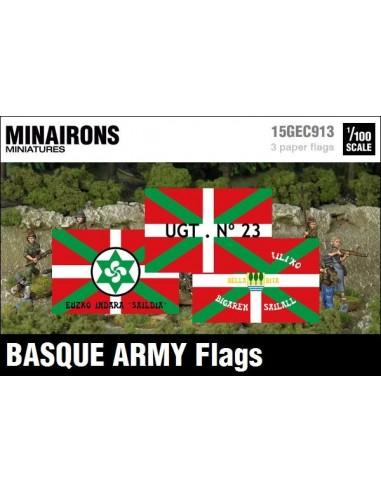 1/100 Banderes de l'exèrcit basc