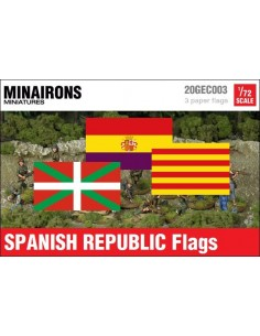 1/72 Spanish Republic Institutional flags