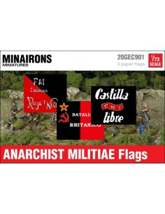 1/72 Anarchist Flags