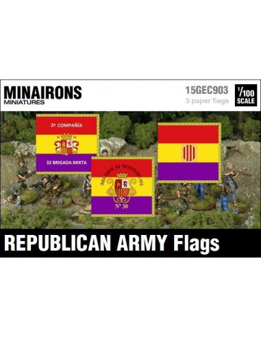1/100 Banderes de l'Exèrcit Republicà