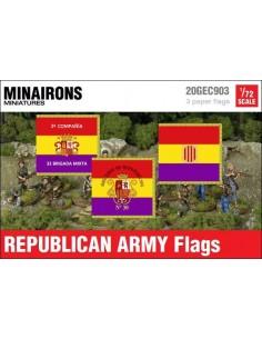 1/72 Banderas del Ejército republicano