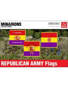 1/72 Republican Army Flags
