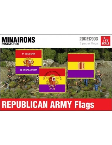 1/72 Banderes de l'Exèrcit republicà