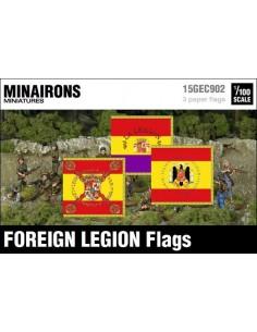 1/100 Banderes de la Legió Estrangera espanyola
