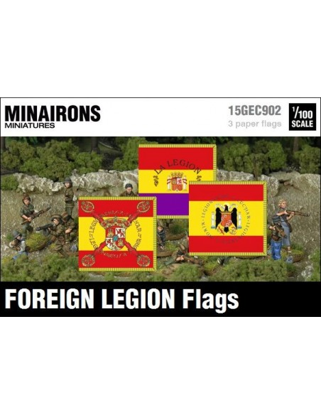 1/100 Banderas del Tercio de Extranjeros